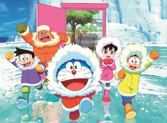 哆啦A梦 大雄的南极大冒险图片