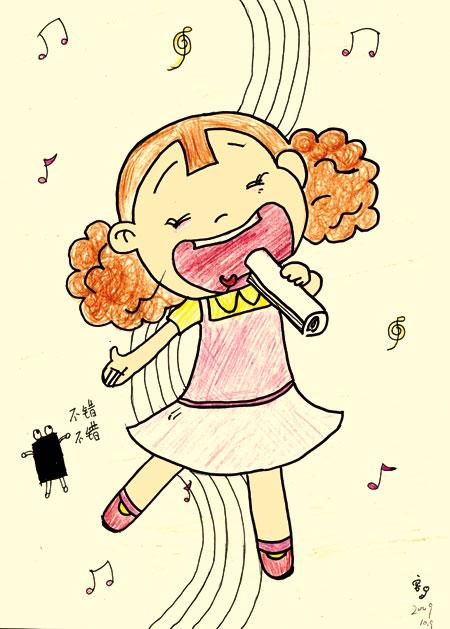 我今年12岁,喜欢画画,最喜欢的动画片是国产的《葫芦娃》和